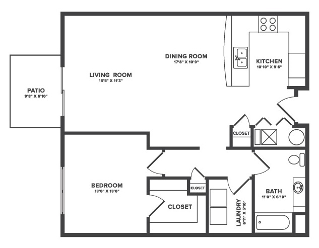 The Oaks at Lakeview - Floorplan - Talisa