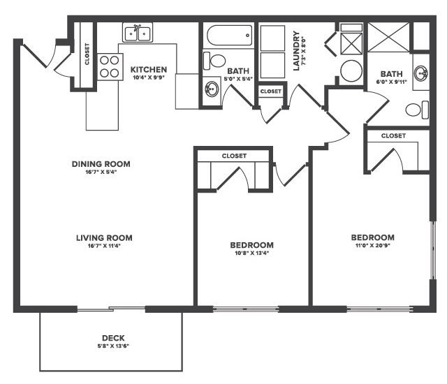 The Oaks at Lakeview - Floorplan - Waterford