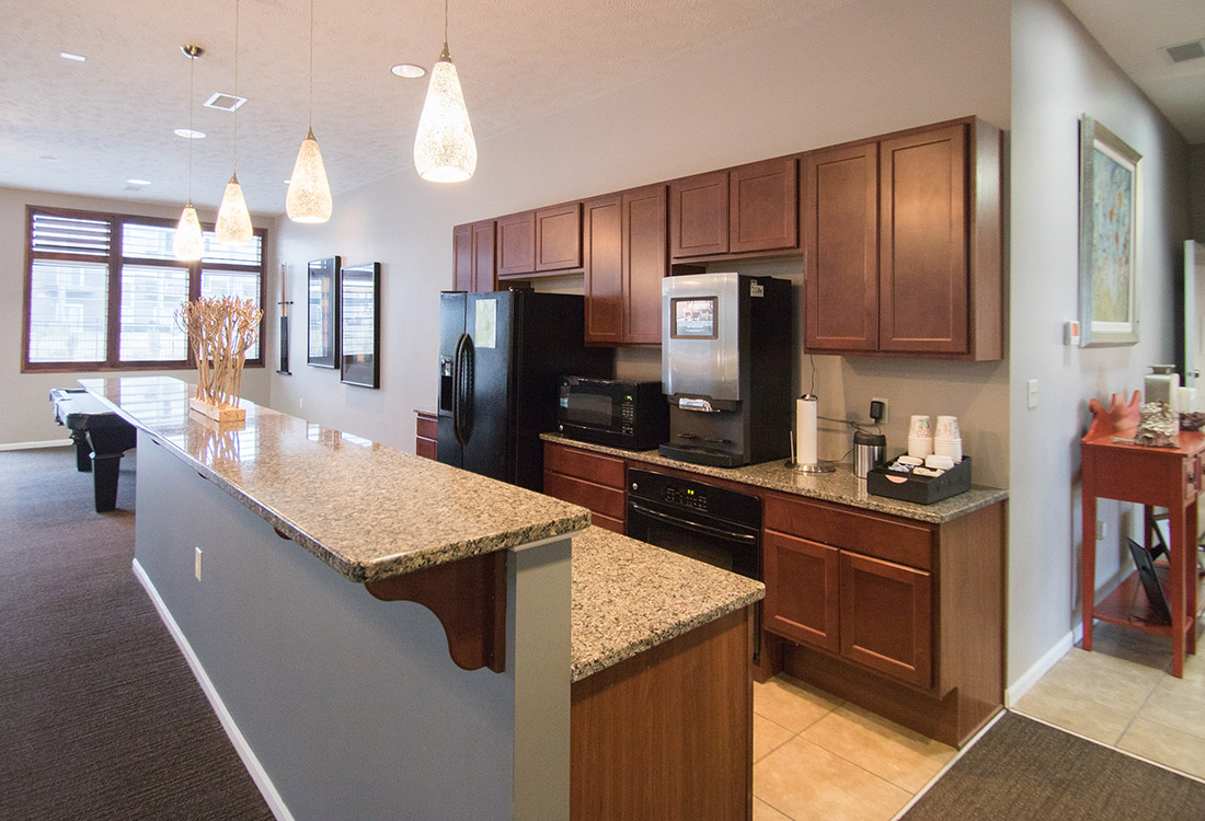 Breakfast Bars at The Oaks at Lakeview Apartments in Ralston, NE