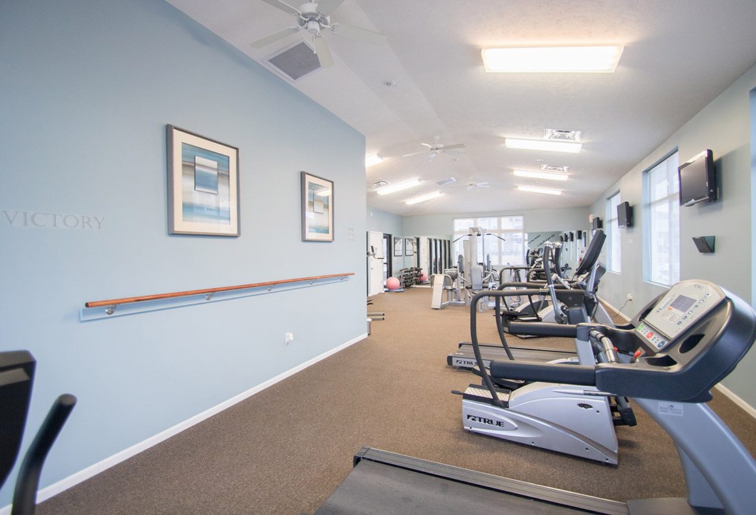 Cardio Equipment at The Oaks at Lakeview Apartments in Ralston, NE