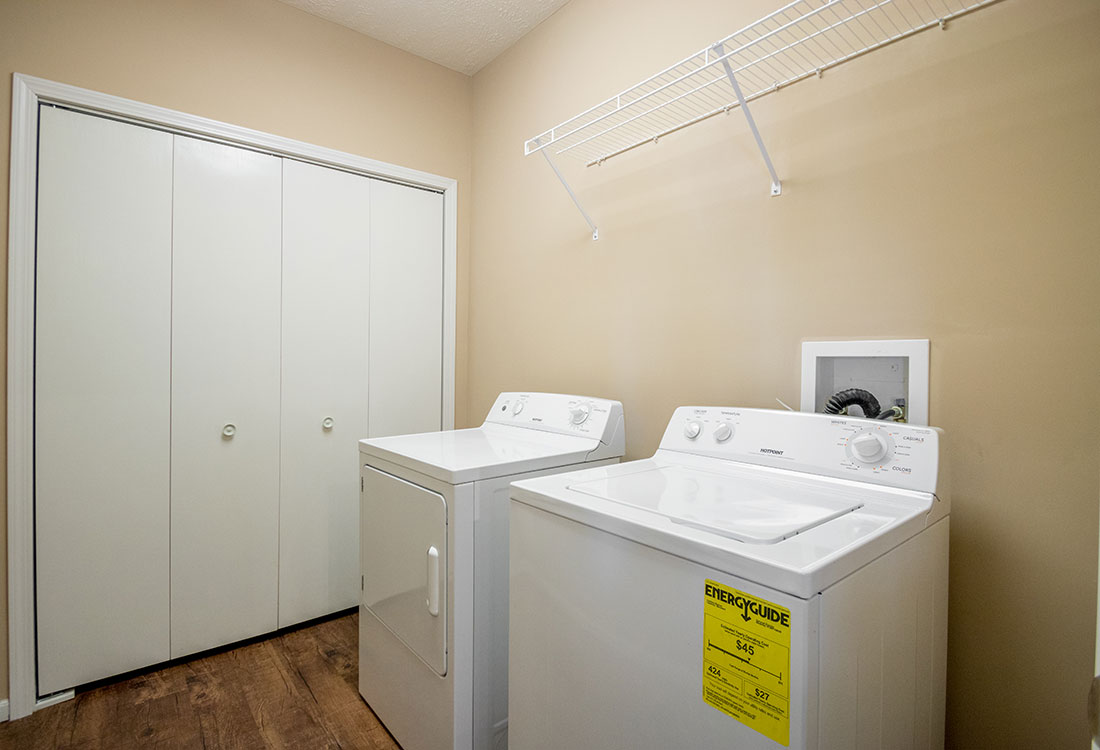 Laundry at The Oaks at Lakeview Apartments in Ralston, NE