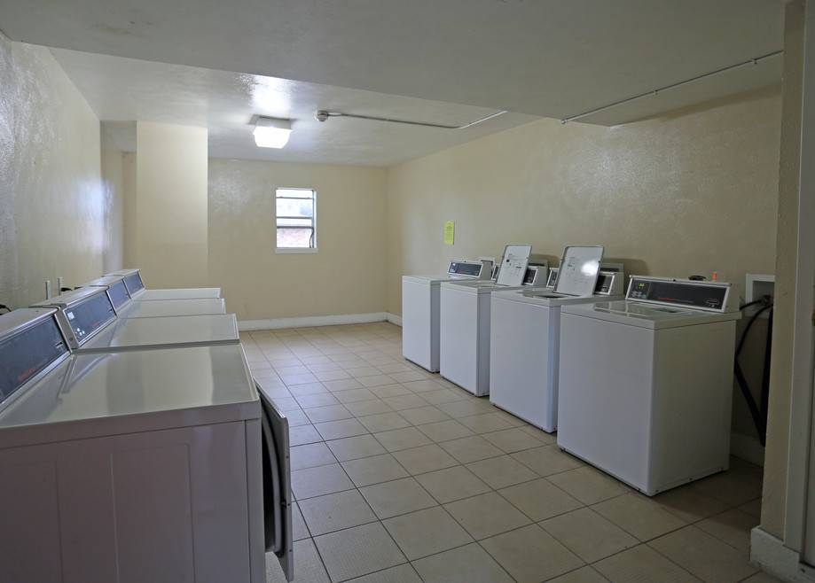 Laundry Center at The Pointe Apartments in Port Arthur, Texas