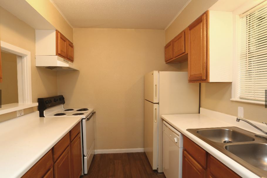 Kitchen Storage at The Pointe Apartments in Port Arthur, Texas
