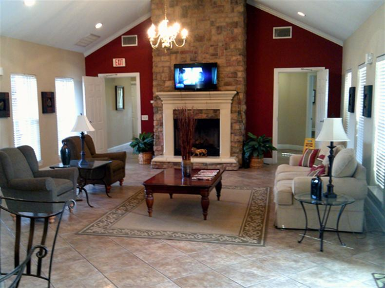 Living Room at the Regency Apartments in Manassas, VA