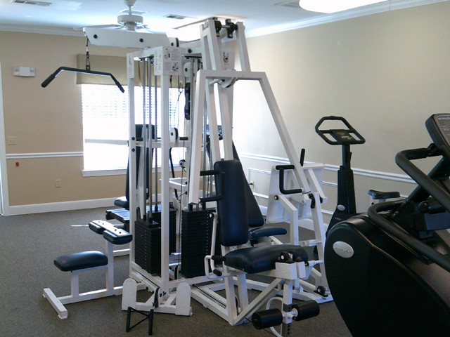 Fitness Center at the Regency Apartments in Manassas, VA