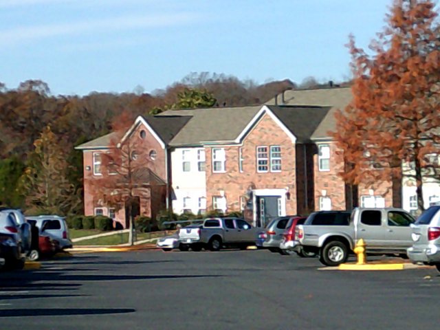 Exterior View at the Regency Apartments in Manassas, VA