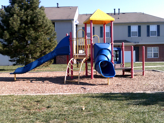 Playground at the Regency Apartments in Manassas, VA