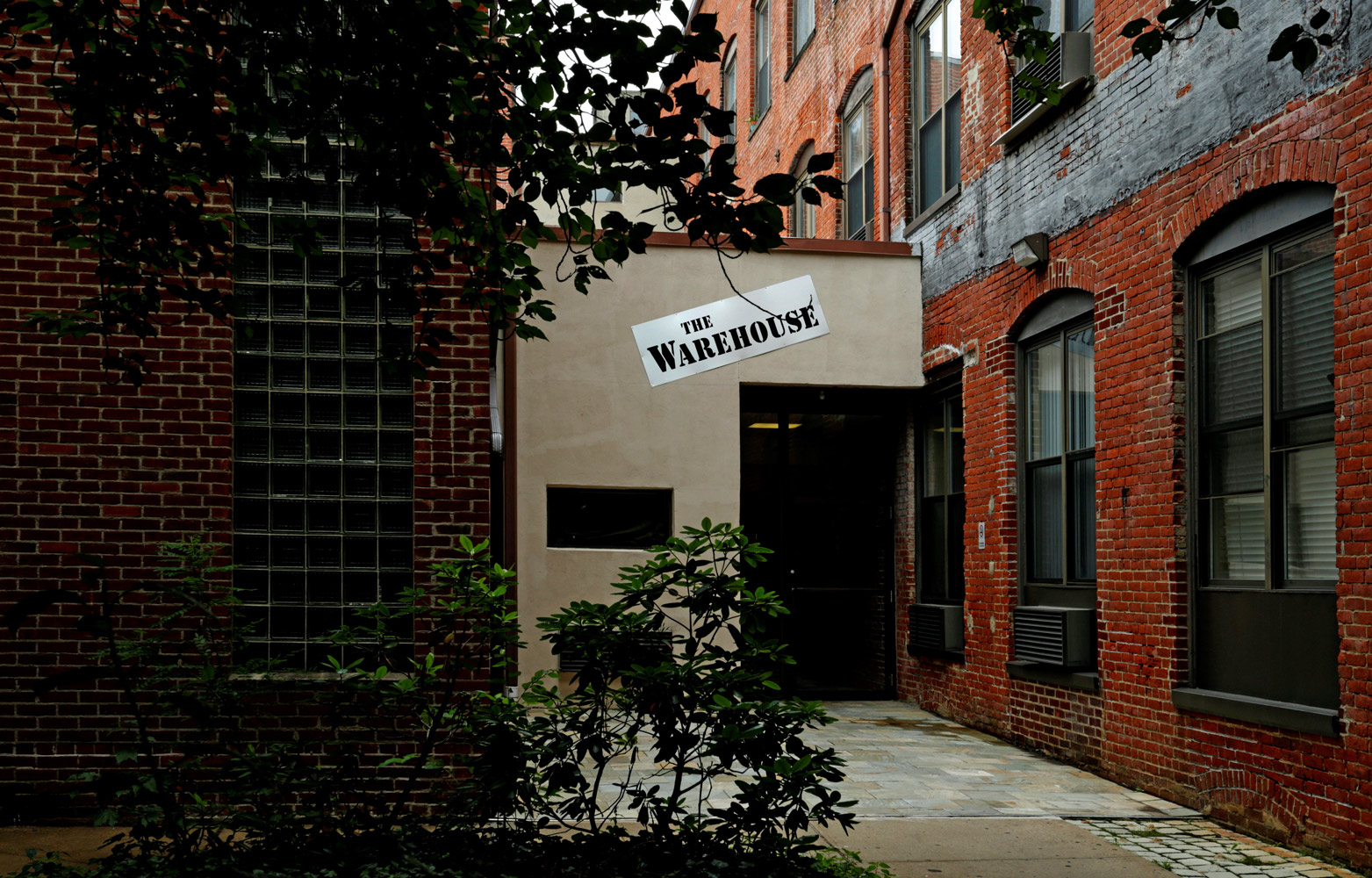 Welcome Signage at The Warehouse Apartments in Somerville, New Jersey