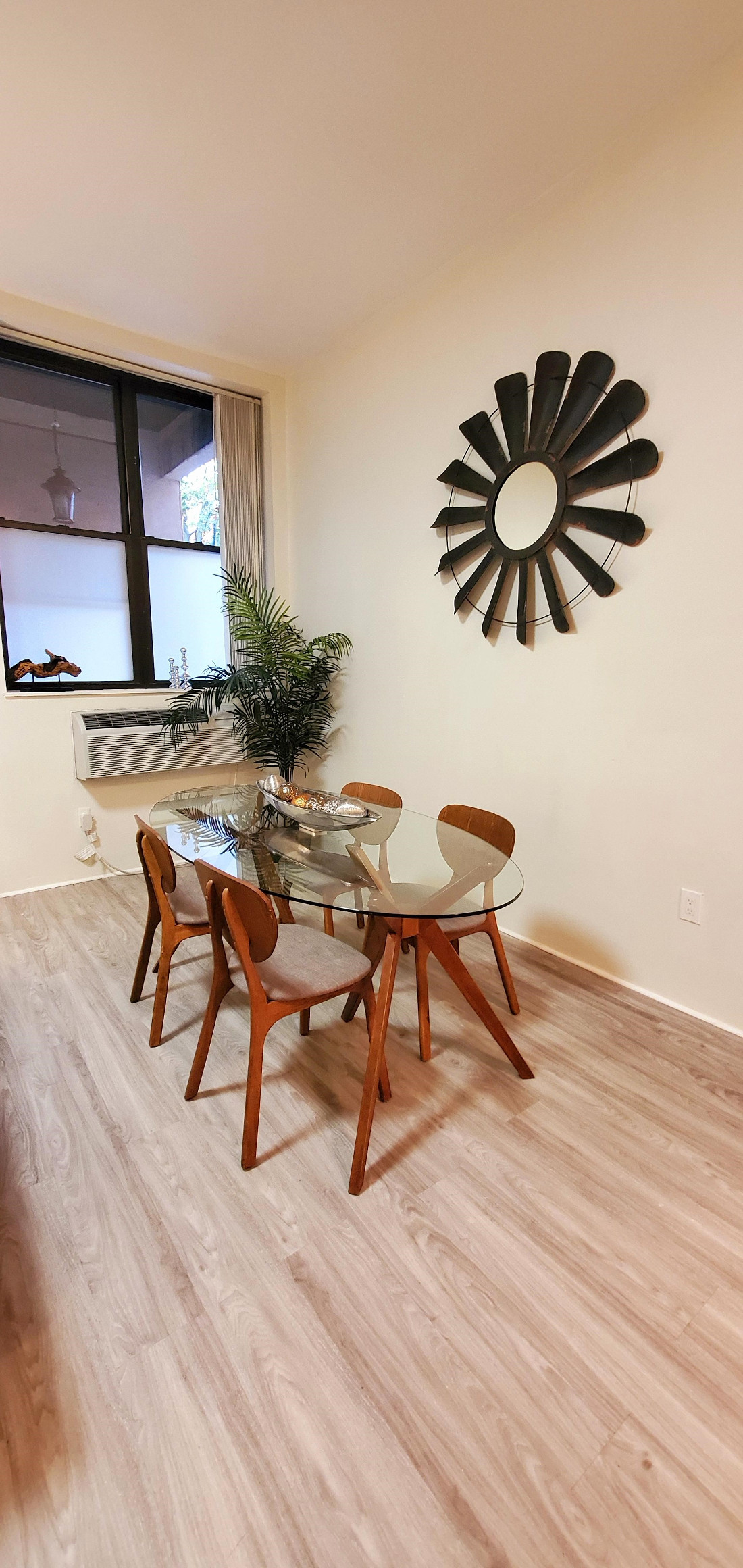 Dining Area at The Warehouse Apartments in Somerville, New Jersey