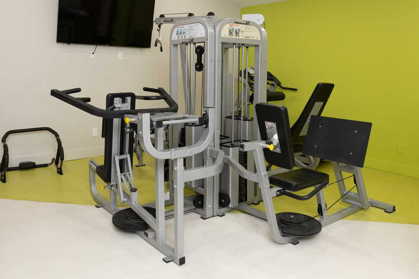 Fitness Center at The Warehouse Apartments in Somerville, New Jersey