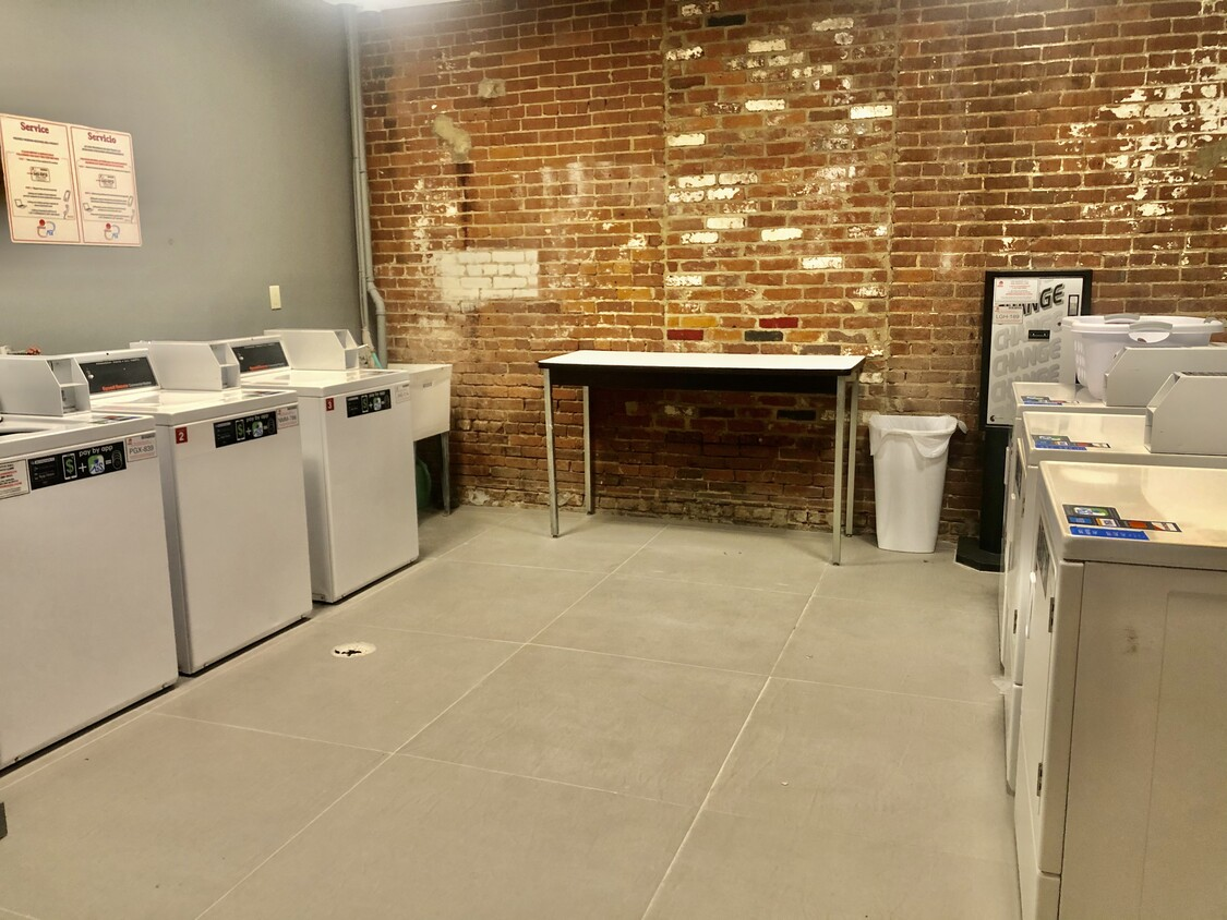 On-Site Laundry at The Warehouse Apartments in Somerville, New Jersey