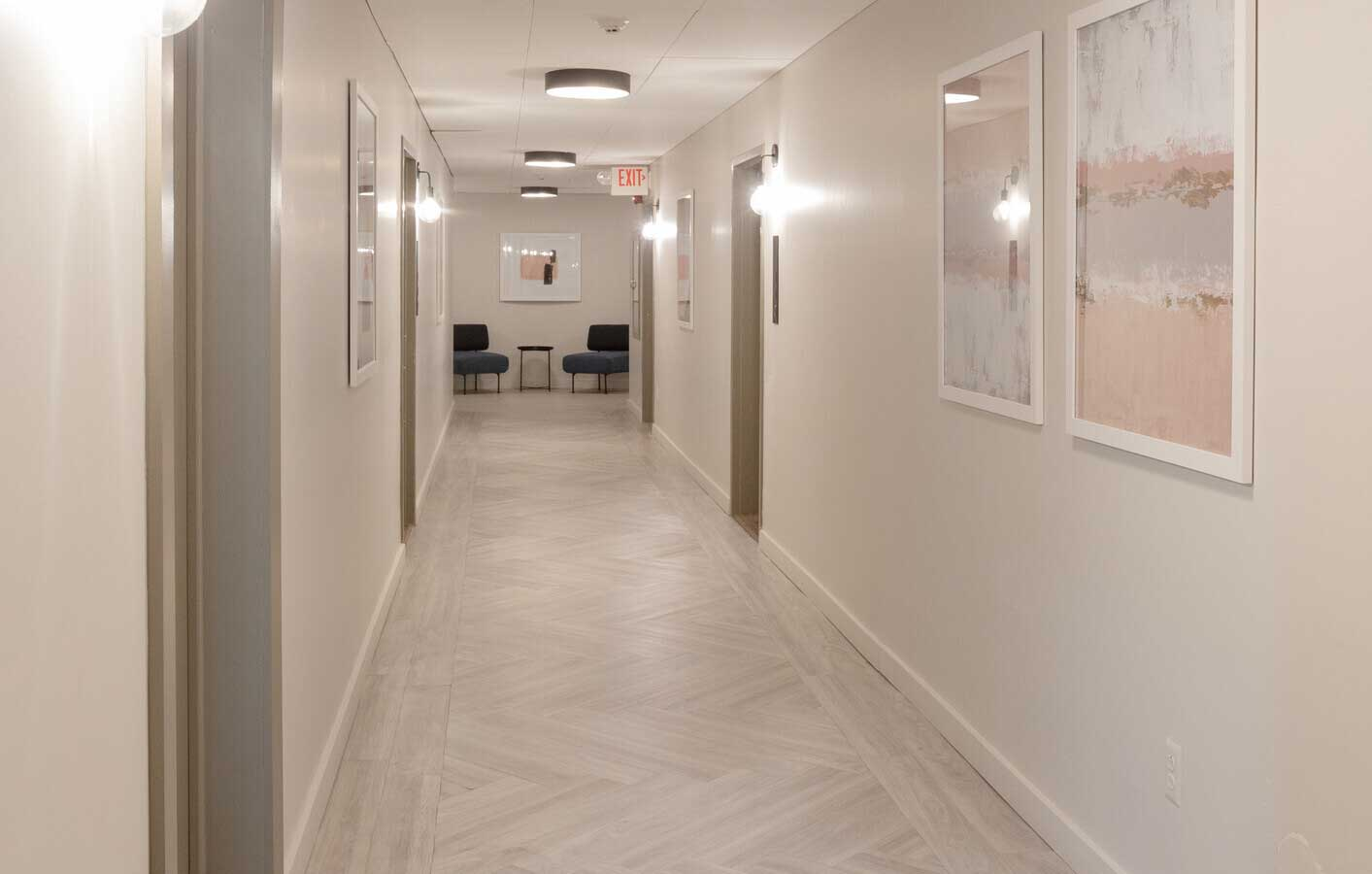 Executive Business Center at The Warehouse Apartments in Somerville, New Jersey
