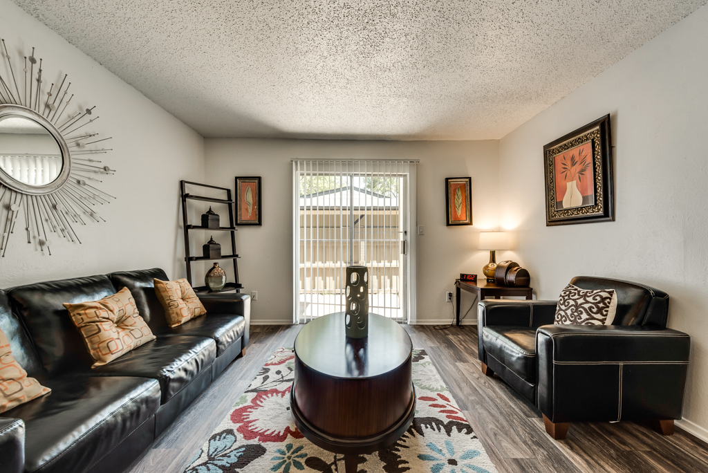 Hardwood Floors at The Watermark Apartments in Mesquite, TX