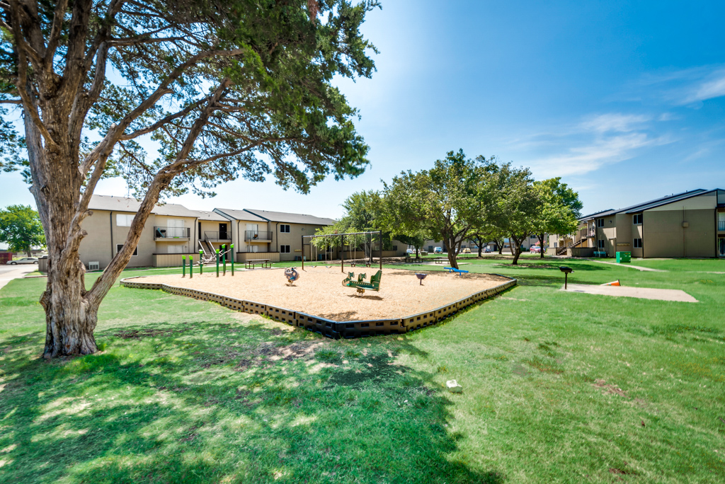 Playground at The Watermark Apartments in Mesquite, TX