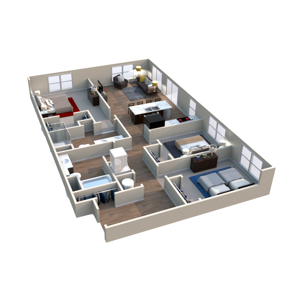Floorplan -  Water Oak image