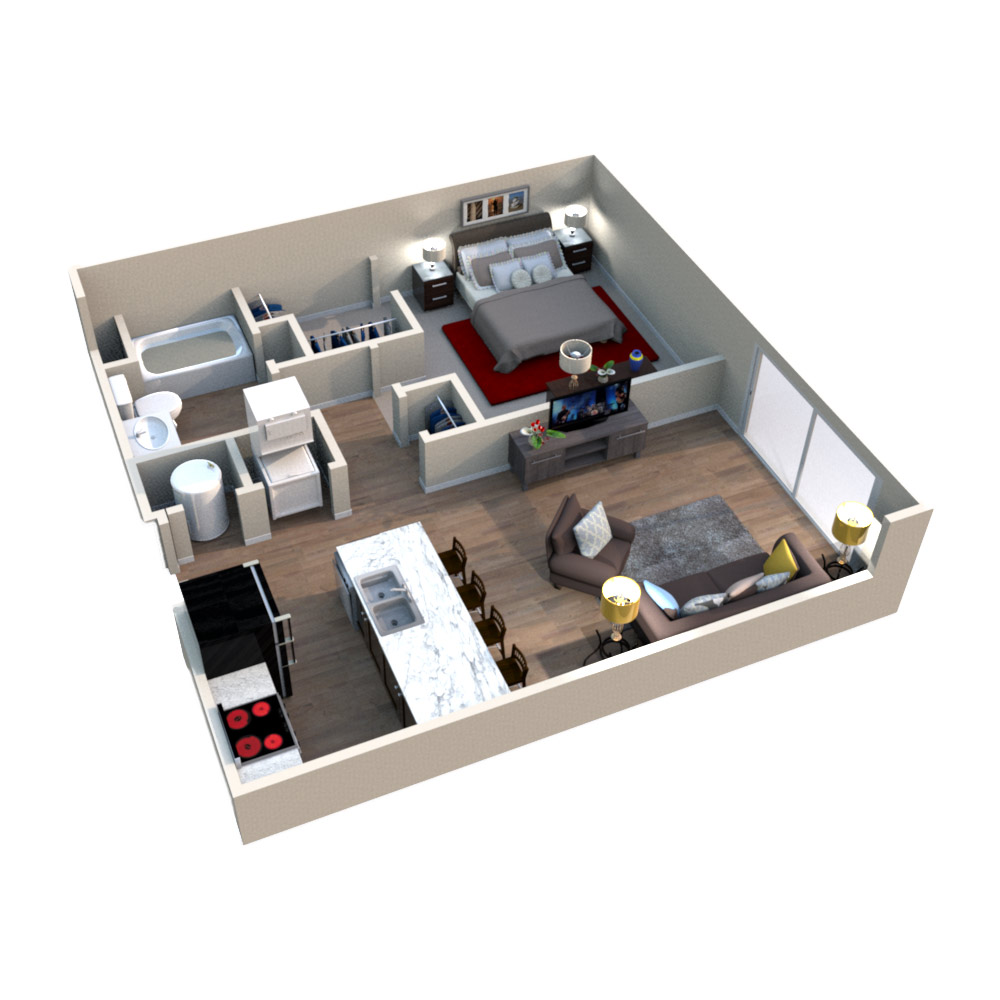 The Westport - Floorplan -  Willow I