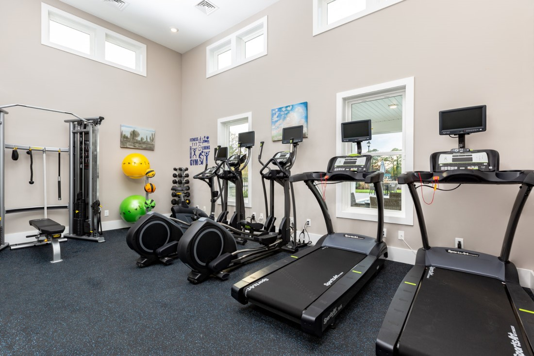 Professional Gym Equipment at The Westport Apartments in Norfolk, VA