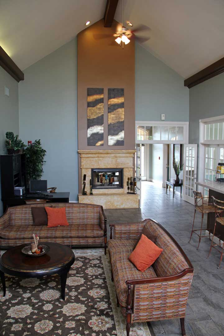 Open Common Areas at Westmount at Three Fountains Apartments in San Antonio, Texas