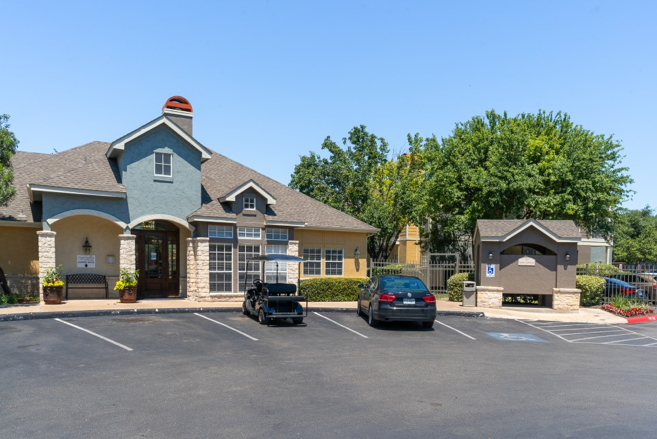 Ample Parking at Westmount at Three Fountains Apartments in San Antonio, Texas