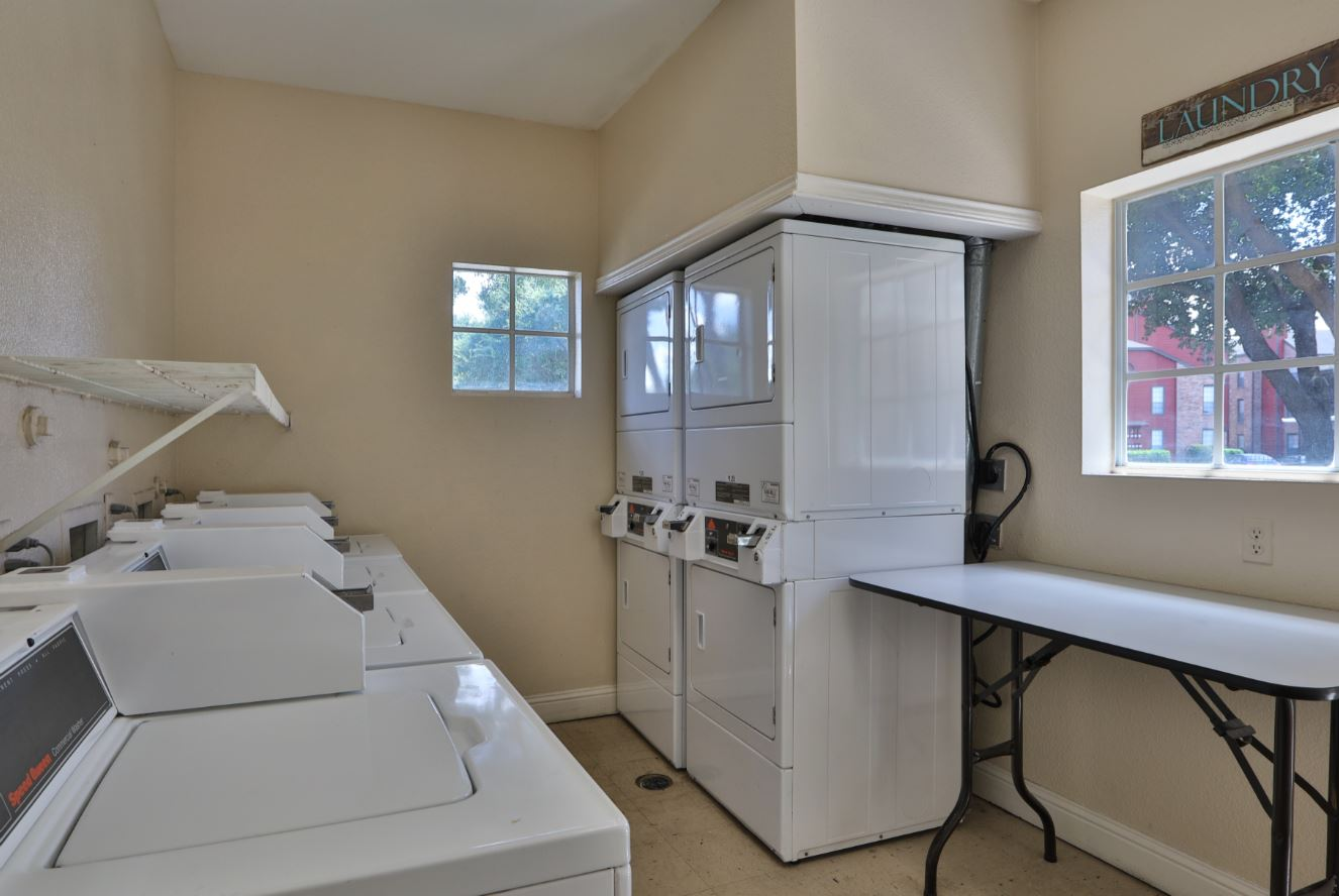 Laundry Facility at Westmount at Three Fountains Apartments in San Antonio, Texas