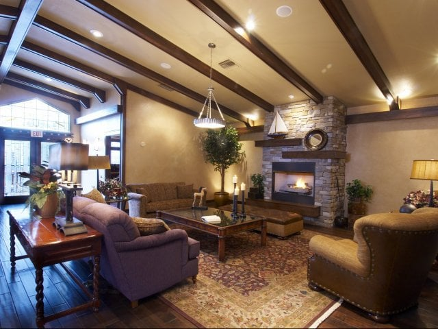 Resident Clubhouse at Timberline Place Apartments in Flagstaff, Arizona