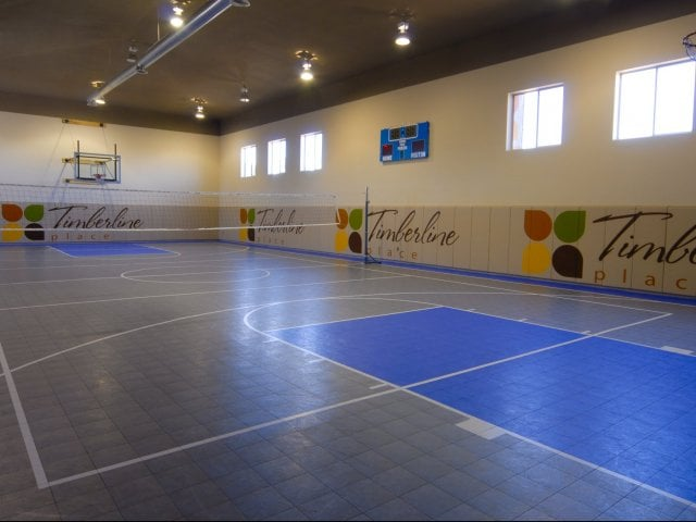 Convenient Sporting Courts at Timberline Place Apartments in Flagstaff, Arizona