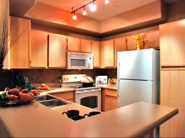 Fully-Equipped Kitchens at Timberline Place Apartments in Flagstaff, Arizona