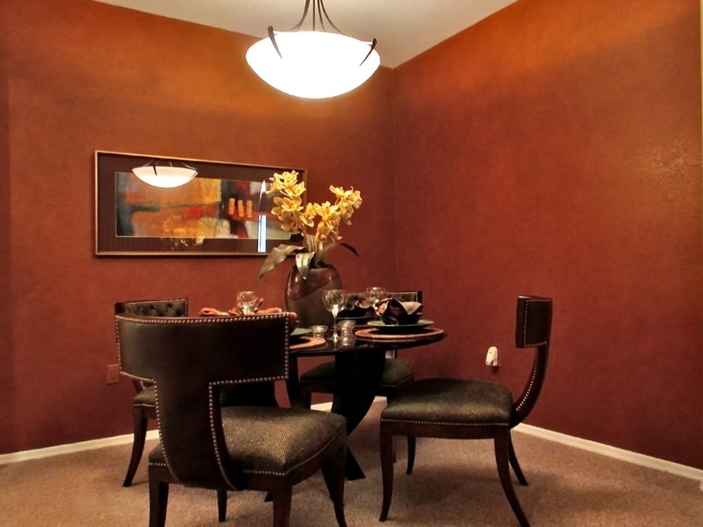 Seperate Dining Area at Timberline Place Apartments in Flagstaff, Arizona