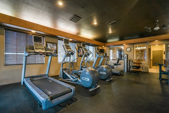 24-Hour Gym Access at Timberline Place Apartments in Flagstaff, Arizona