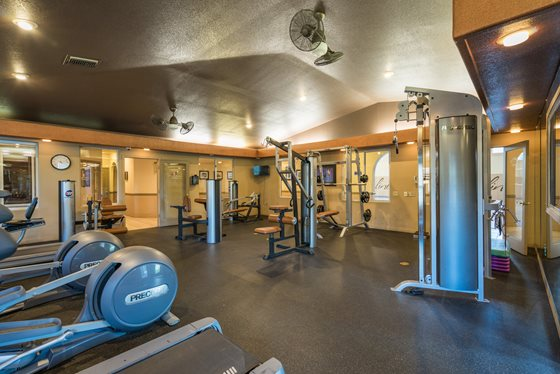 Convenient Resident Gym at Timberline Place Apartments in Flagstaff, Arizona