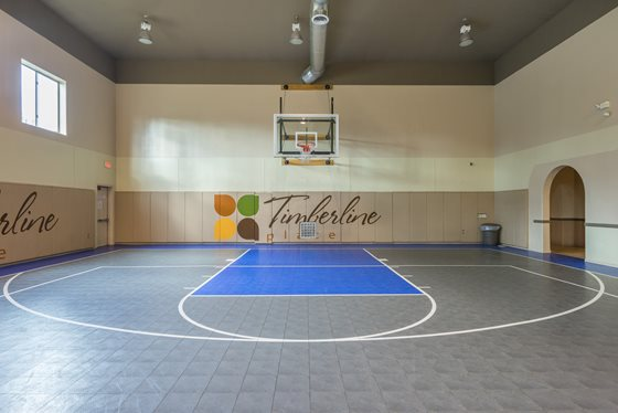 State-of-the-Art Basketball Court at Timberline Place Apartments in Flagstaff, Arizona
