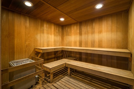Refreshing Sauna at Timberline Place Apartments in Flagstaff, Arizona