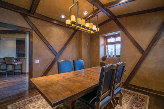 Convenient Dining Area at Timberline Place Apartments in Flagstaff, Arizona
