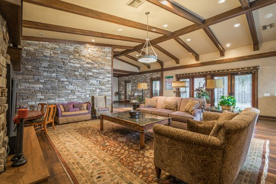 Elegant Resident Clubhouse at Timberline Place Apartments in Flagstaff, Arizona