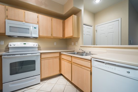 State-of-the-Art Kitchen at Timberline Place Apartments in Flagstaff, Arizona