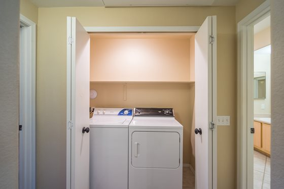 Convenient Washer and Dryer at Timberline Place Apartments in Flagstaff, Arizona