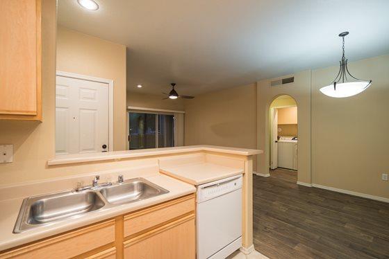Contemporary Interiors at Timberline Place Apartments in Flagstaff, Arizona