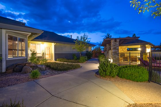 Leasing Center at Timberline Place Apartments in Flagstaff, Arizona