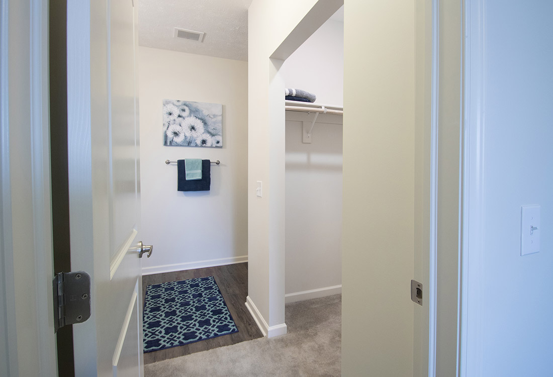 Walk-In Closets at Titan Springs Apartments in Papillion, Nebraska