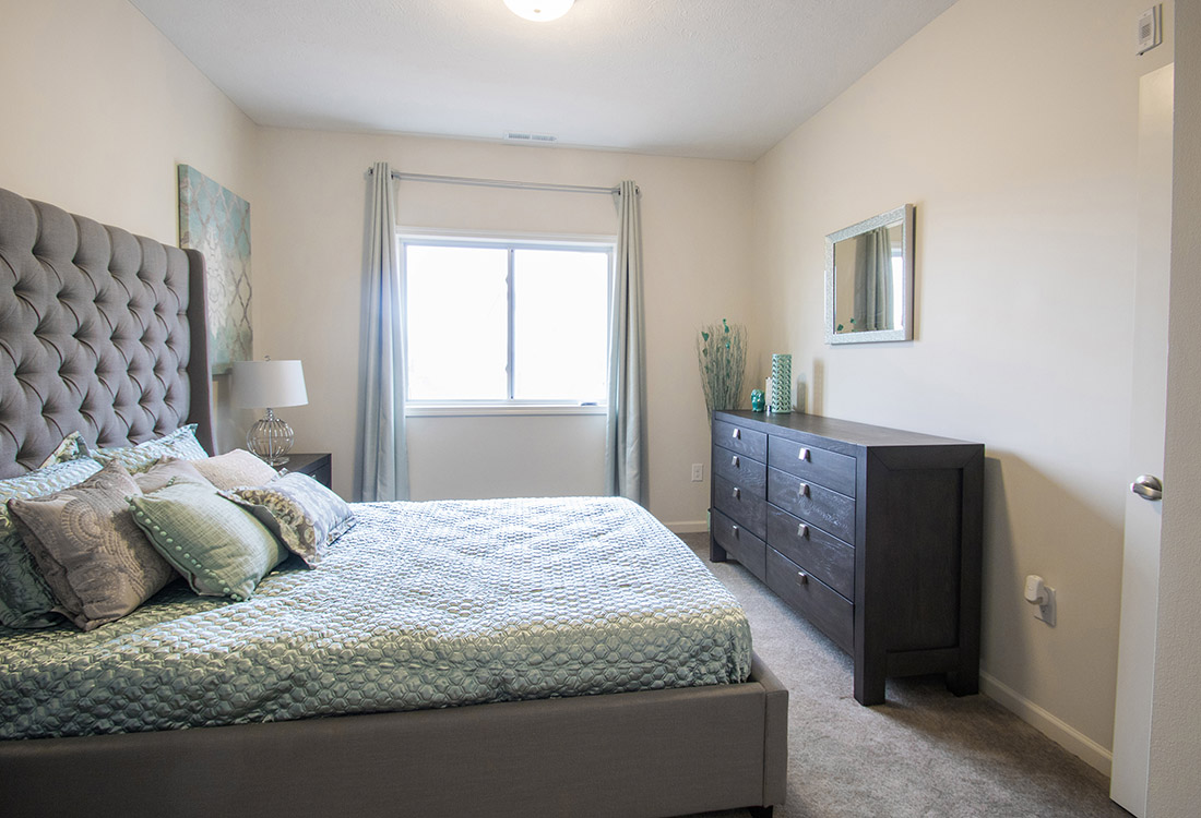 Large Bedrooms at Titan Springs Apartments in Papillion, Nebraska