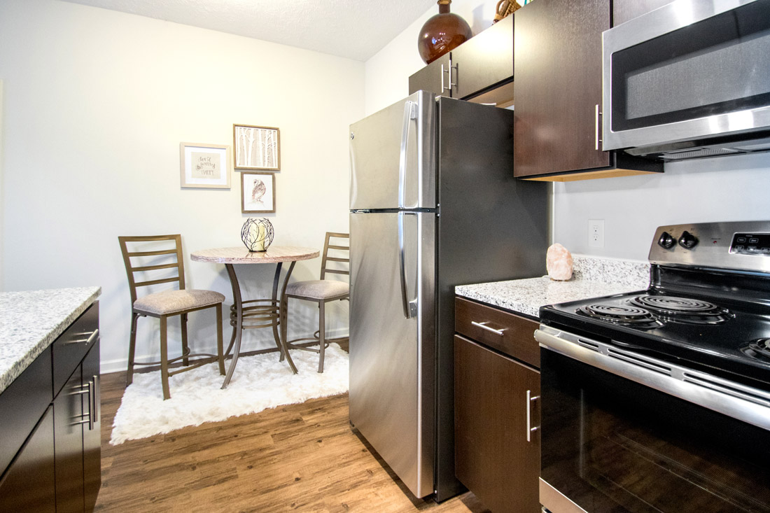 Kitchen & Dining at Titan Springs Apartments in Papillion, NE.