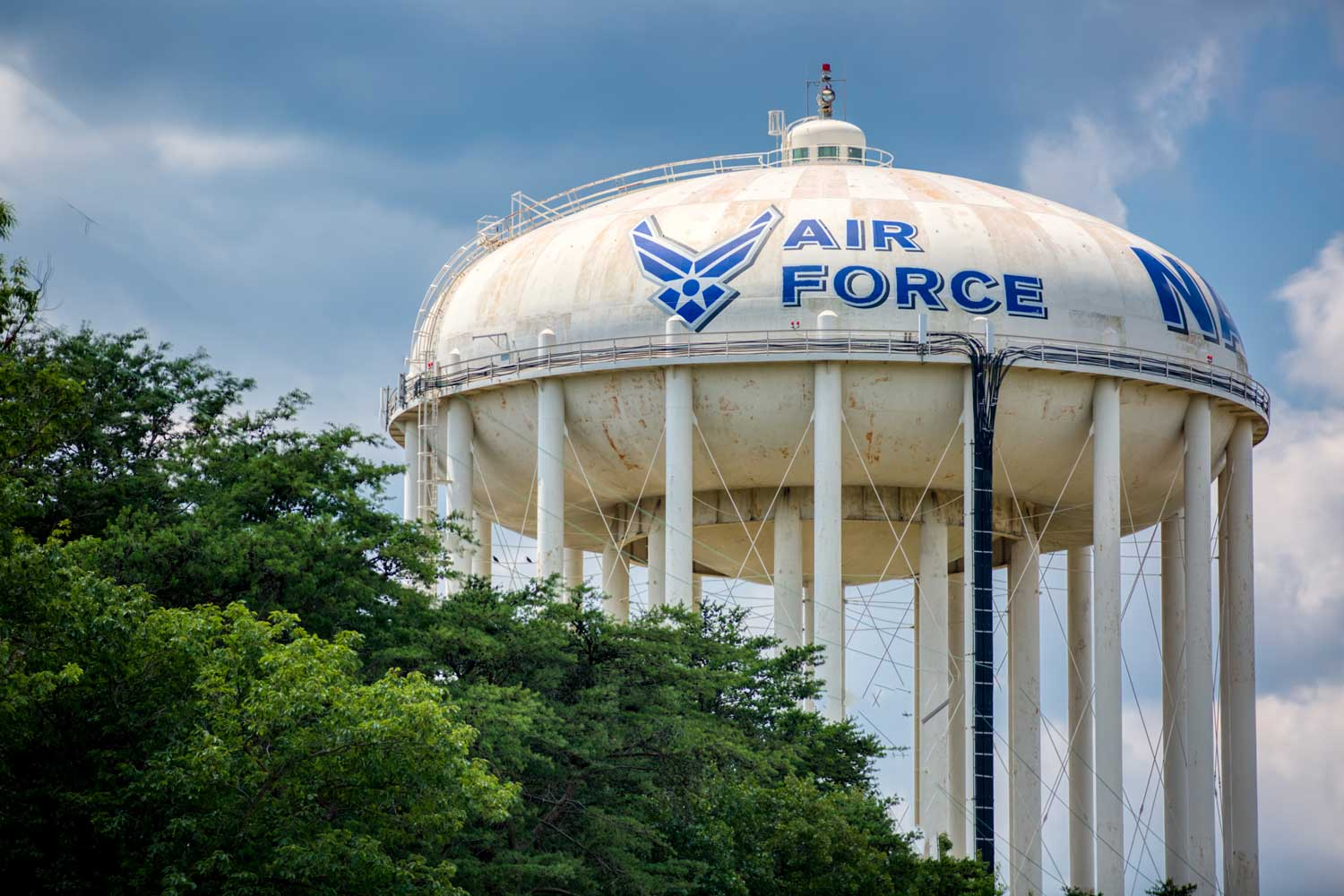 Joint Base Andrews is 10 minutes from Top of the Hill Apartments in Temple Hills, MD
