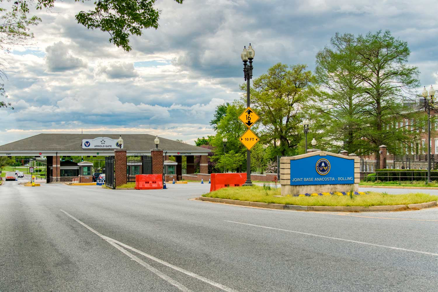Joint Base Anacostia-Bolling is 10 minutes from Top of the Hill Apartments