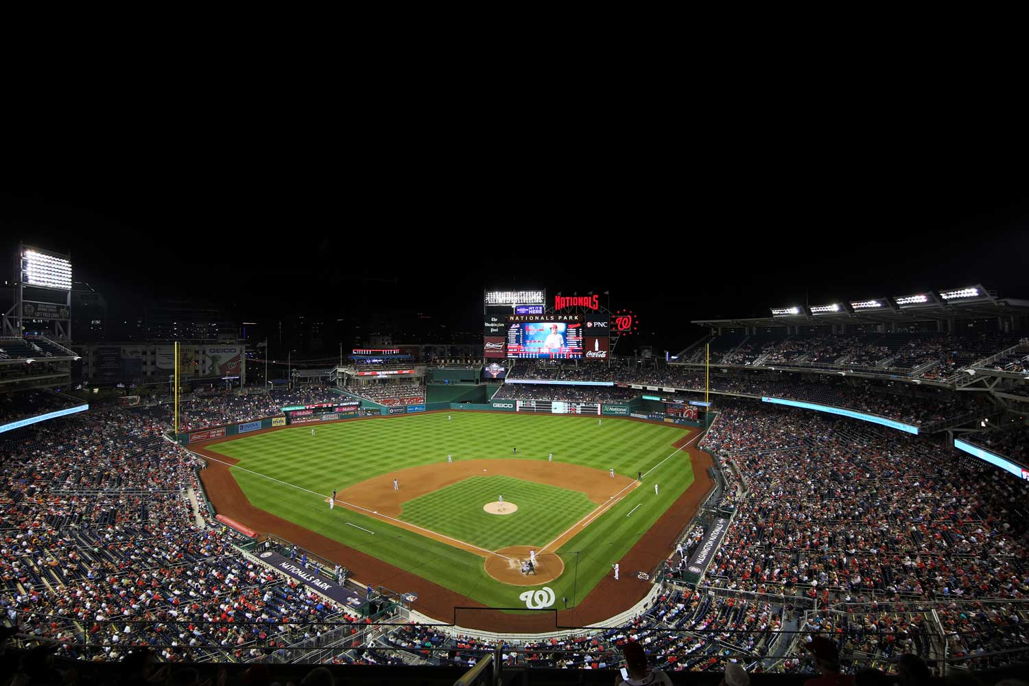 Nationals Park is 10 minutes from Top of the Hill Apartments in Temple Hills, MD