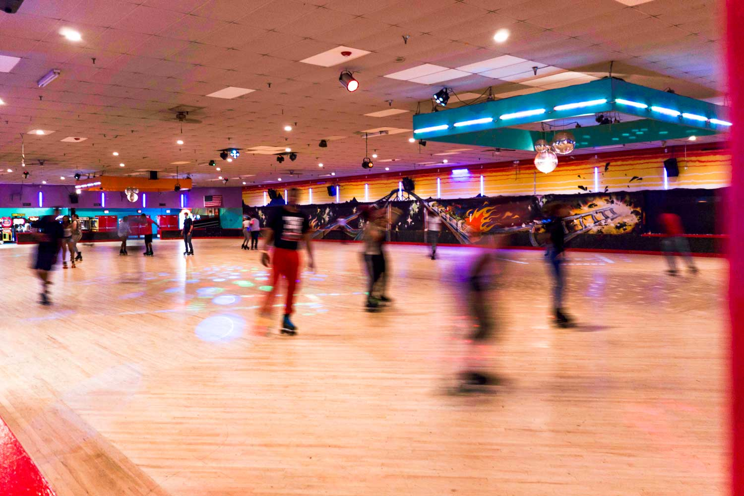 Walking distance to Temple Hills Skate Palace in Temple Hills, MD
