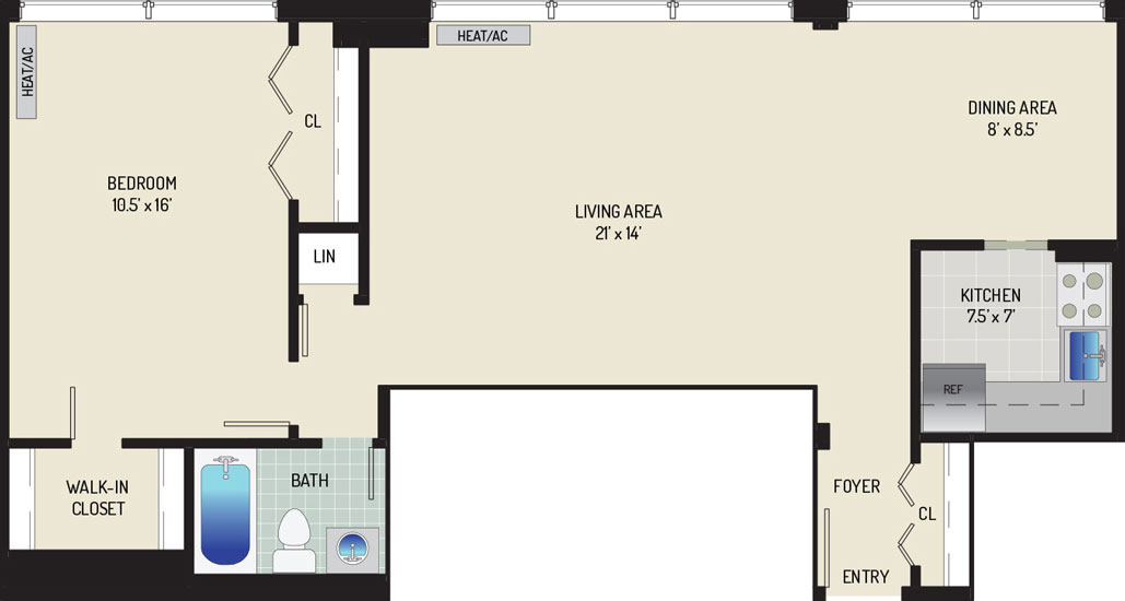 Top of the Hill Apartments - Apartment 443206-711-I