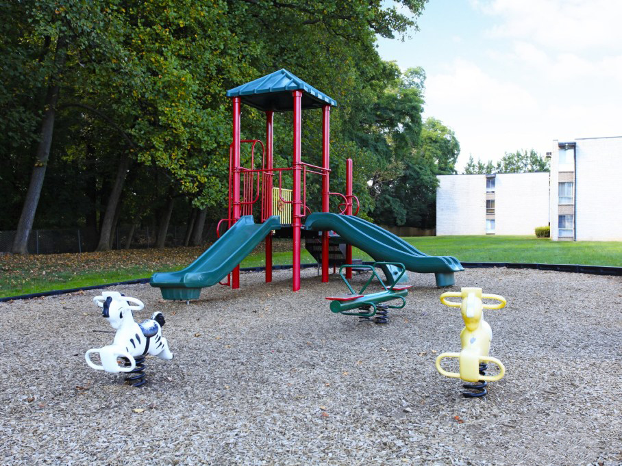 Playground at the Towne Crest Apartments in Gaithersburg, MD