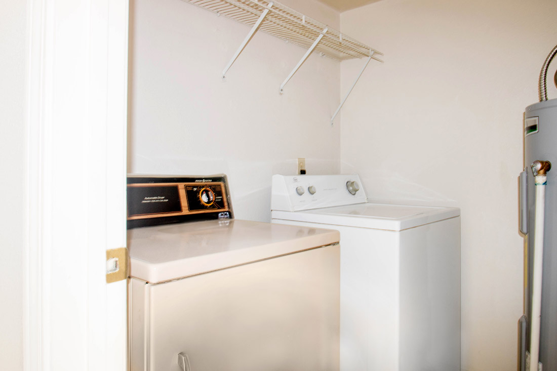 Laundry Room at The Trace at North Major Apartments in Beaumont, Texas