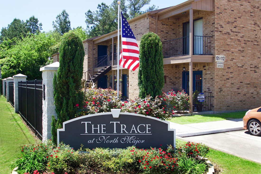 1-Bedroom Apartments at The Trace at North Major Apartments in Beaumont, Texas