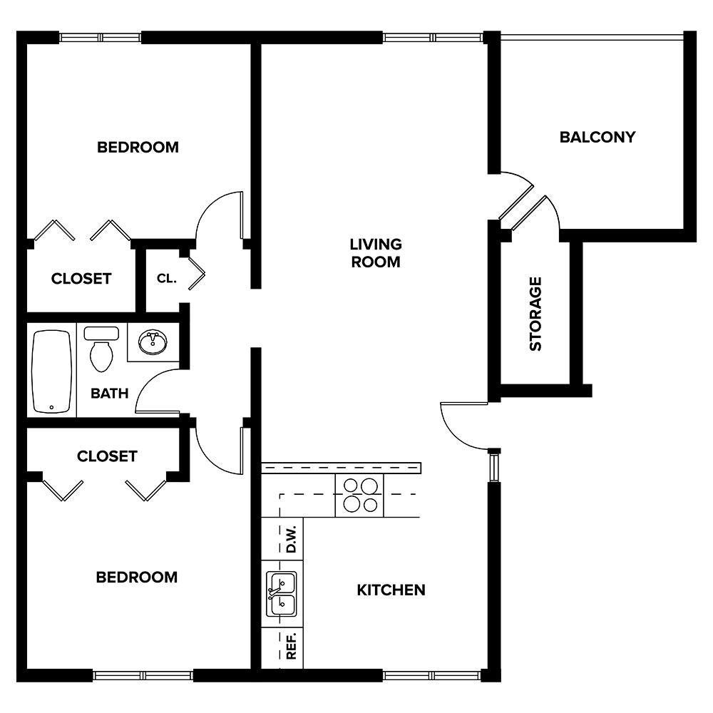 Trenridge Gardens - Floorplan - Mulberry